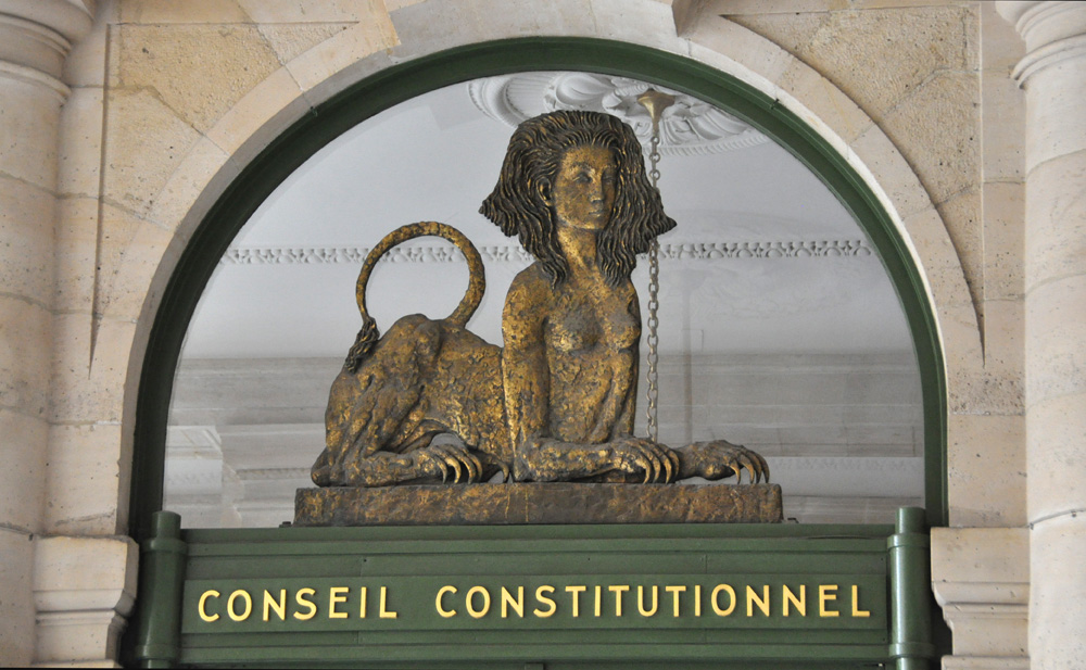 Conseil constitutionnel dissertation