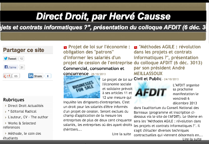 Direct Droit, par Hervé Causse