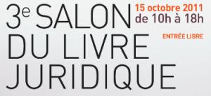 3e salon du livre juridique au Conseil constitutionnel, le 15 octobre – Venez nombreux !