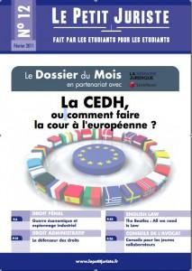 Le Petit Juriste n°12 – Fév 2011