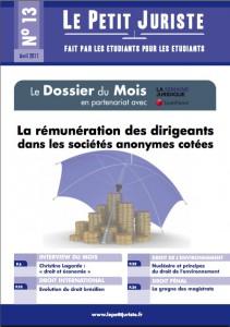 Le Petit Juriste n°13 – Avril 2011