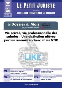 Le Petit Juriste n°14 – Octobre 2011