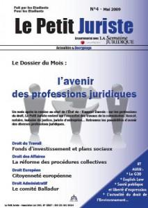Le Petit Juriste n°4 – Avr 2009