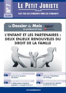 Le Petit Juriste n°7 – Fév 2010