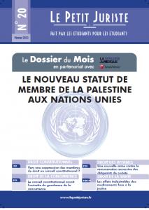 Le Petit Juriste n°20 – Janv 2013