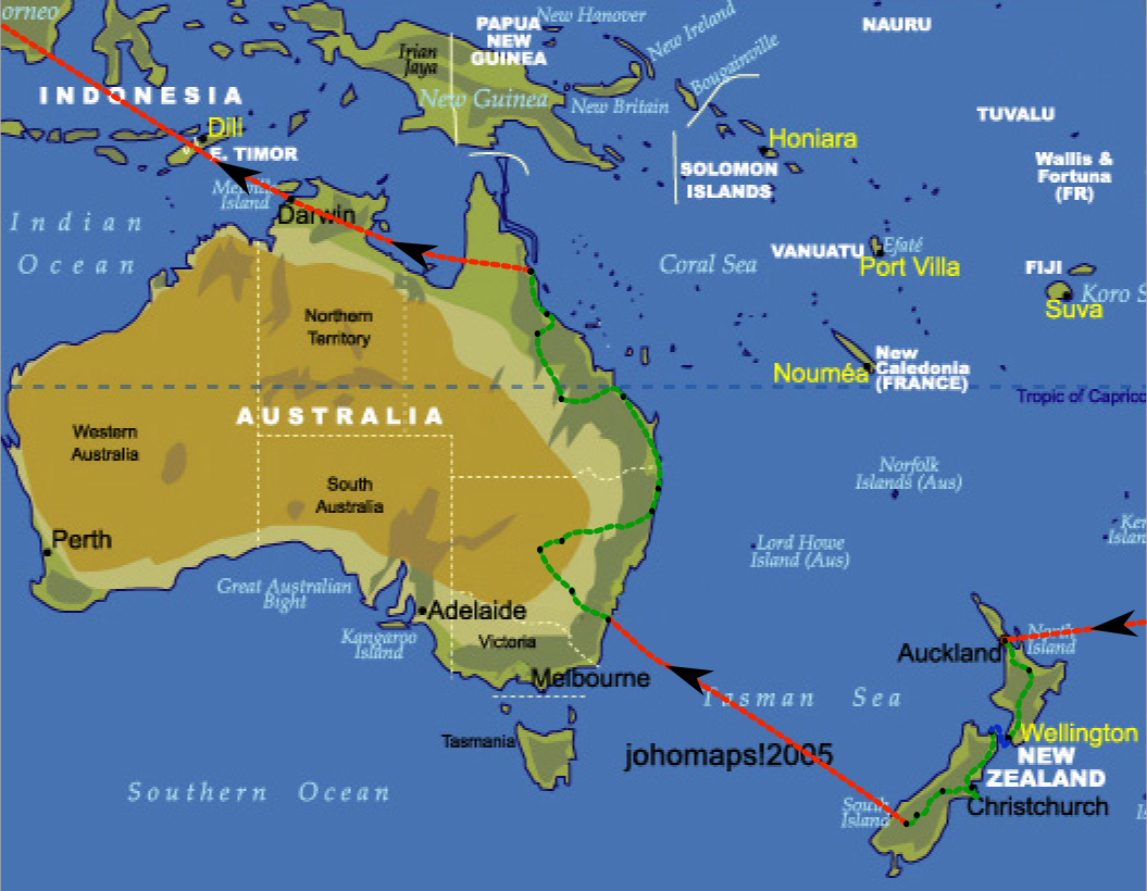 Carte Australie Et Iles Fidji.Quel Droit Pour Les Iles Du Pacifique Le Petit Juriste