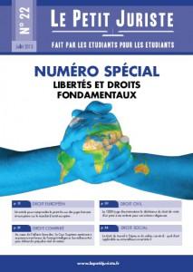 Le Petit Juriste n°22 – numéro spécial – Juillet 2013