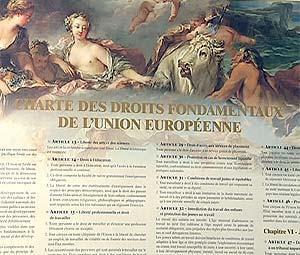 Actualités autour de la Charte des droits fondamentaux de l'Union européenne
