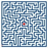 4538259-grand-labyrinthe-bleu