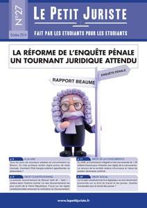 Le Petit Juriste n°27 — Octobre 2014