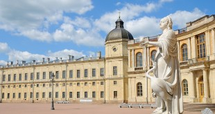 Gatchina Palace in Gatchina, the suburb of St-Petersburg, Russia