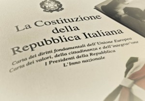 L'Italie s'attaque à sa Constitution