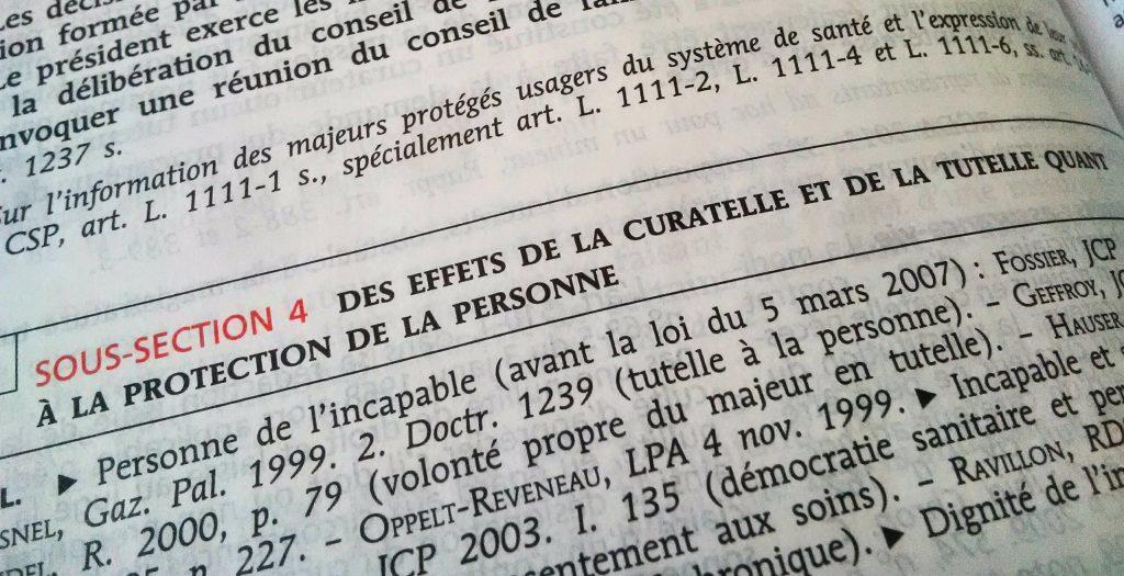 De La Subsidiarite Dans La Protection Du Majeur Incapable Le Petit