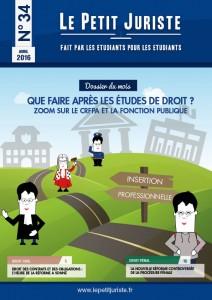Le Petit Juriste n°34 – Avril 2016