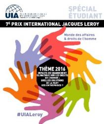 L'Union International des Avocats organise le Prix Jacques Leroy