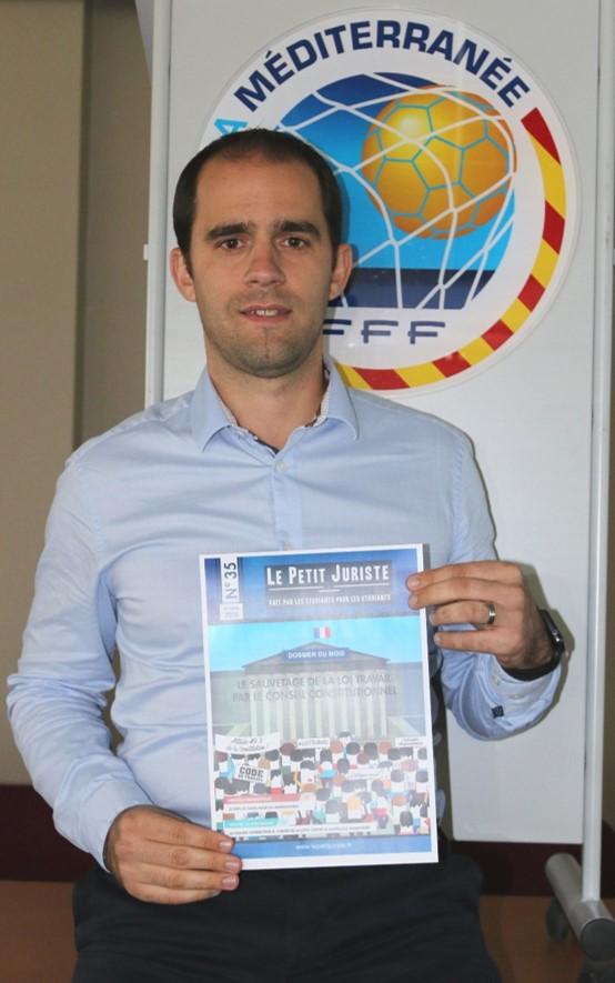 Directeur Administratif et juridique à la Ligue de la Méditerranée de Football