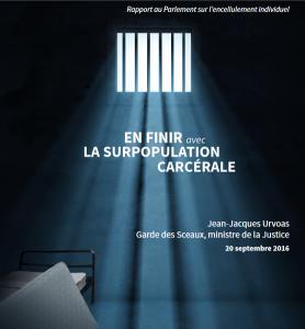 Le rapport du ministre de la Justice contre la surpopulation carcérale