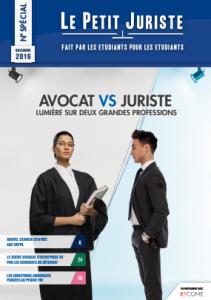 Le Petit Juriste – Numéro special : Avocats vs Juristes, lumières sur deux grandes professions