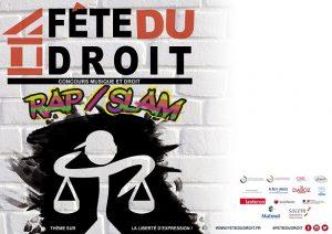 affiche fete du droit concours rap slam