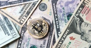 bitcoin-coin-on-bills-of-cash-money_4460x4460
