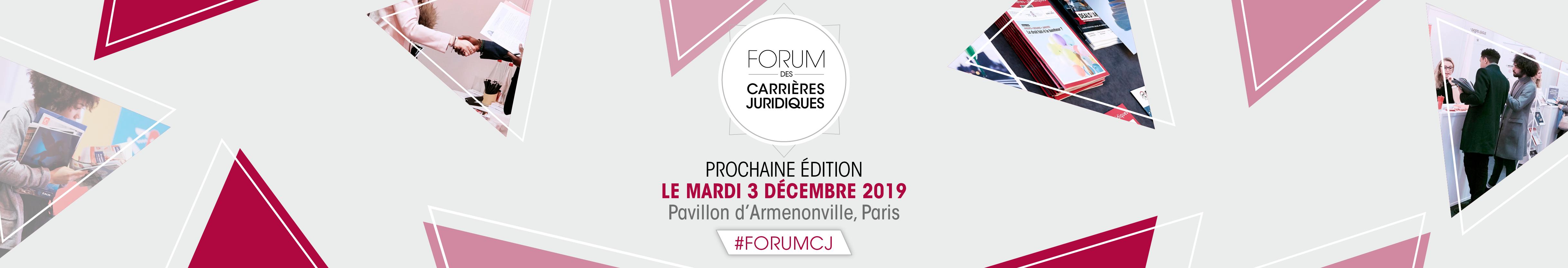 Forum Carrières Juridiques